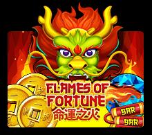 รีวิวเกม Flames of Fortune Joker Slot