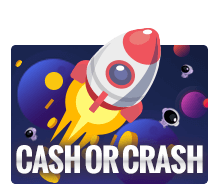 ทดลองเล่น CASH OR CRASH เกมจรวดวัดใจ