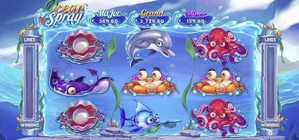 สัญลักษณ์ของเกม Ocean Spray