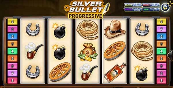 สัญลักษณ์ของเกม Silver Bullet Progressive