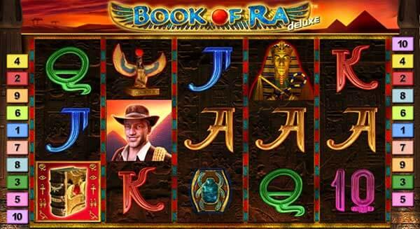 สัญลักษณ์ของเกม Book Of Ra Deluxe