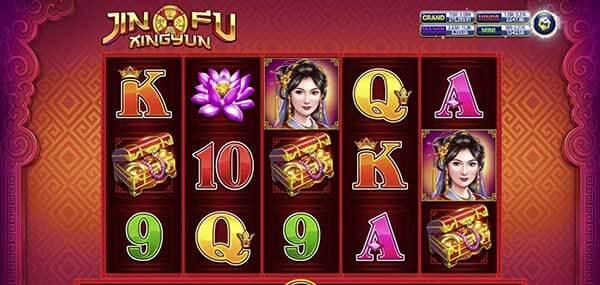 สัญลักษณ์ของเกม Jin Fu Xing Yun