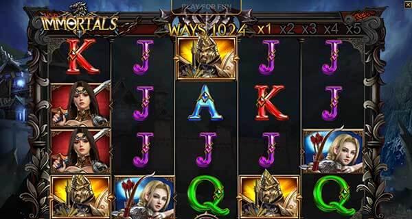 สัญลักษณ์เกม Immortals