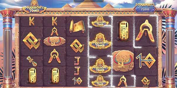 สัญลักษณ์เกมPharaohs Tomb