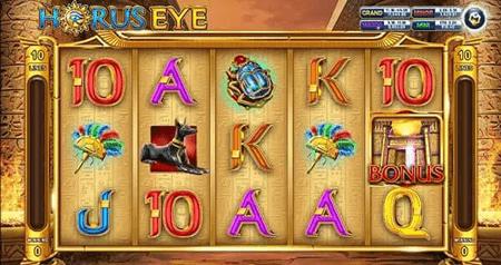 สัญลักษณ์ของเกม Horus Eye